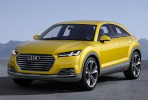 Огляд нової Audi ТТ Offroad
