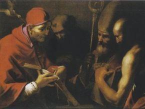Із римської церкви вкрали картину XVII століття
