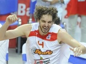 Баскетболіст По Газоль названий найціннішим гравцем Євробаскету-2009