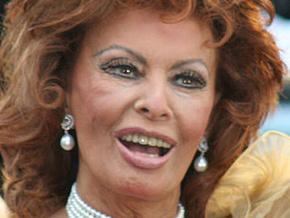 Знаменитая актриса итальянского кино  Софи Лорен отмечает юбилей