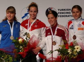 Україна завоювала срібло на Чемпіонаті Світу з фехтування
