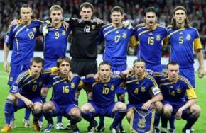 Сборная Украины на 19-м месте в рейтинге УЕФА