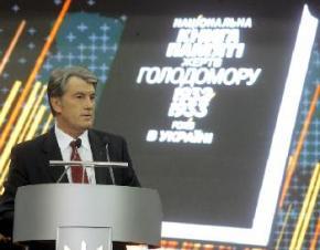 В субботу Ющенко почтит память умерших от Голодомора