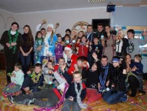Українські зірки подарували Новий рік дітям-сиротам