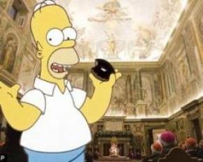 Ватикан похвалил Симпсонов