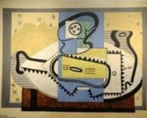 В Италии нашли гитару, которую расписал Пикассо