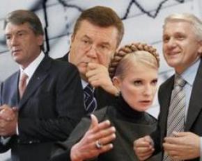 Народные прозвища кандидатов на пост президента Украины
