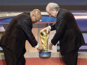 Результаты жеребьевки Чемпионата мира по футболу-2010 ПАР