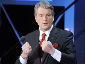 Ющенко прокоментував підсумки першого туру виборів
