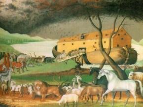 Ноїв ковчег виявився круглим