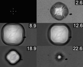 Фізики навчилися створювати квадратні бульбашки