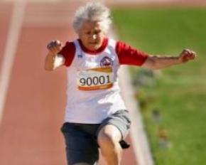 91-летняя украинка примет участие в эстафете Олимпийского огня