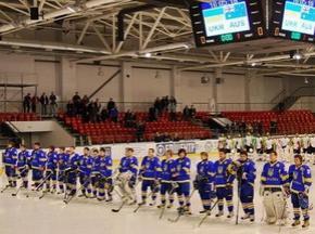 Украина разгромила Бельгию в стартовом матче ЧМ по хоккею