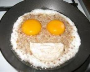 Яичница - лучший завтрак