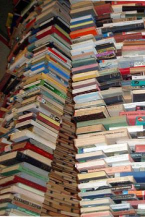 В Украине снижается производство книжной продукции