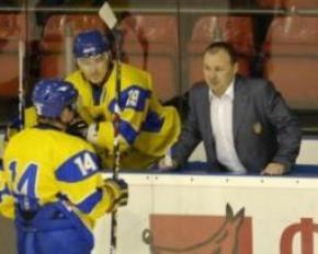 Хоккейный матч Украина - Польша начали с минуты молчания
