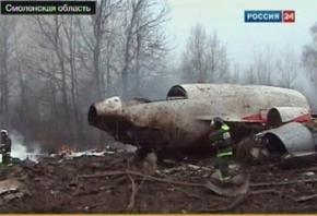 В кабине пилотов самолета Качиньского находился посторонний человек