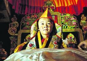 У Тибеті п'ятирічний хлопчик став новим втіленням Будди