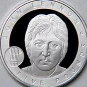 Джона Леннона увековечили на монете