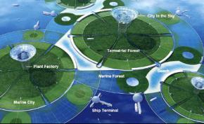 В Японии разработан проект дрейфующих городов будущего