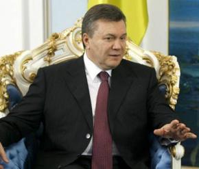 Янукович: Наша судьба - очищать Украину