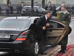 Вопреки запрету Кабмина президентский автопарк пополнился шестью дорогими авто