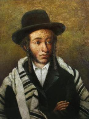 Український художник намалював російського поета Пушкіна в образі єврея