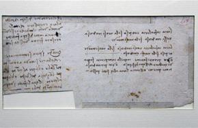 Найдена закодированная рукопись Леонардо да Винчи