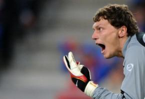 Андрій П'ятов став найкращим футболістом України