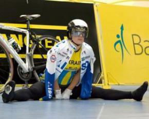 Українка завоювала дві медалі на етапі Кубка світу з велотреку