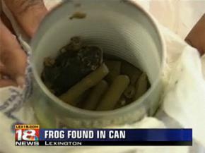 Американка знайшла жабу в банці консервованої квасолі