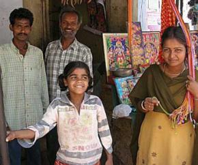 Население Индии превысило 1,2 млрд. человек