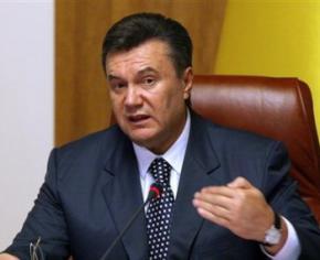 Янукович утверждает, что Украина не пойдет в российский союз