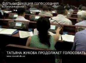 В Донецке вместо депутатов голосуют не депутаты?