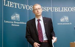 Вице-спикер литовского Сейма подал в отставку из-за превышения скорости