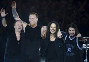 Лучшей рок-группой за последние 30 лет признали группу Metallica