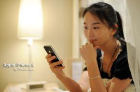 Молода китаянка запропонувала цноту за білий iPhone