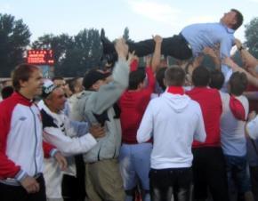 В футбольную премьер-лигу Украины вливается новая команда
