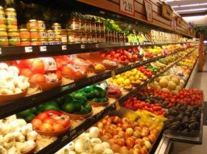 В Україні зросло виробництво харчових продуктів на 4,4%