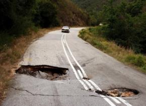 Ремонт українських доріг планується лише в 2014-у році