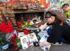 У центрі Києва відкриють стіну пам'яті Віктора Цоя