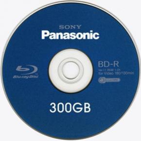 Sony і Panasonic створять оптичний диск місткістю 300 Гб