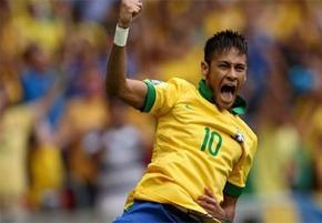 Лучшим футболистом Кубка Конфедераций-2013 признан нападающий сборной Бразилии