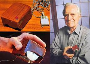 У США помер винахідник комп'ютерної мишки Дуглас Енгельбарт