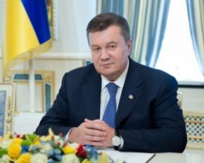 Янукович призвал украинцев идти в Европу