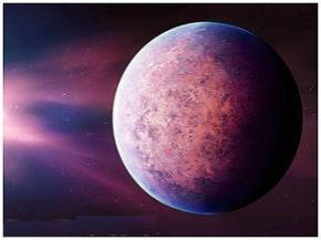 Астрономы открыли розовую планету загадочного происхождения