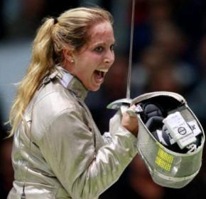 Жіноча збірна з фехтування перемогла на чемпіонаті світу, Ольга Харлан здобула перемогу для української команди
