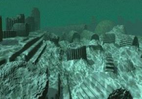 У Криму на дні Чорного моря в підводному місті Акра виявлено загадкову вежу