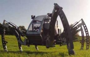 Інженер Метт Дентон (Matt Denton) створив шестиногого робота-всюдихода -