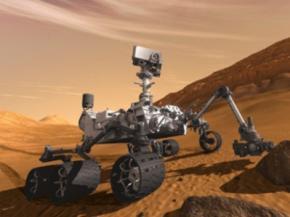 Марсоход Кьюриосити не нашол признаков жизни на Марсе